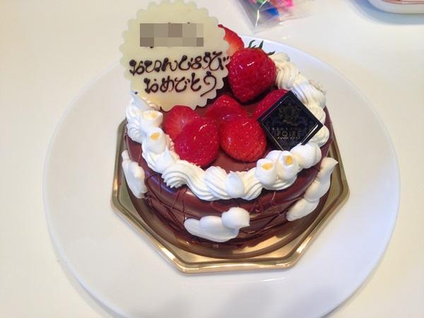 ポアール誕生日ケーキ