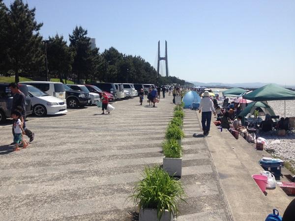 マーブルビーチ駐車場